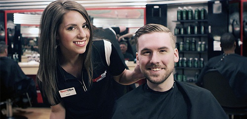 Sport Clips Haircuts of Westlake Marketplace​ stylist hair cut